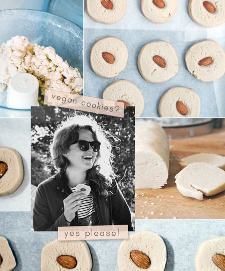 Vegan Vanilla Almond Sandies