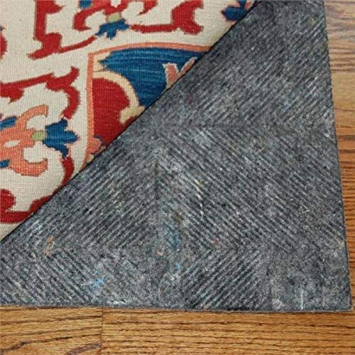 New Durahold Plus 8 X10 1 4 Thick Felt Rubber Patented Non Skid Rug Pad Professional Grade Safe All Floor Types Online In 2020 Rubber Rugs Area Rug Pad Rug Pad