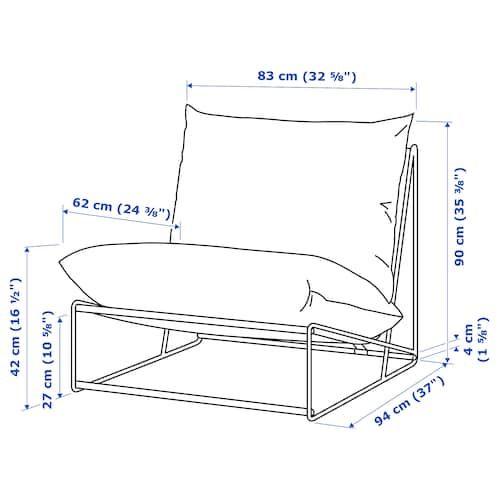 Havsten Chair In Outdoor Beige 32 5 8x37x35 3 8 Wnetrza