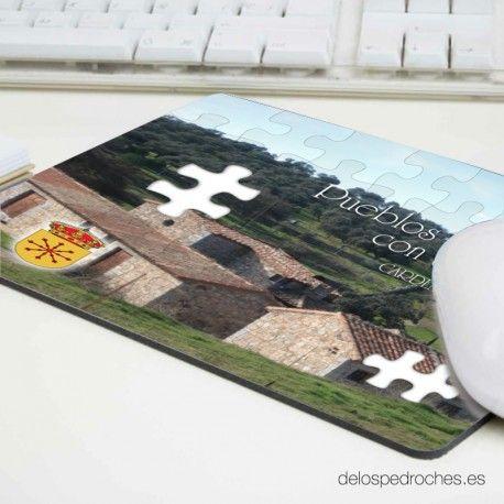 Alfombrilla de ratón con fotografía de Cardeña (Córdoba) #ValleDeLosPedroches   http://delospedroches.es/es/alfombrillas/226-alfombrilla-poliester-rectangular-cardena-al-04.html