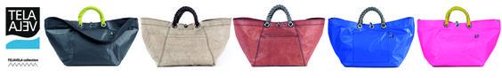L'idea della prima borsa moda della lineaTELAVELA, nasce durante una vacanza in barca a vela. scopri l'intera collezione di borse TELAVELA e shop on line