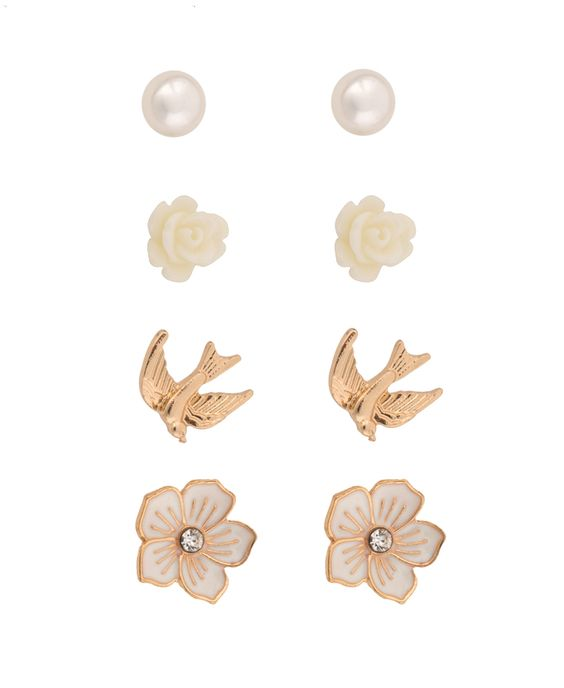 Cute earring set from Forever 21