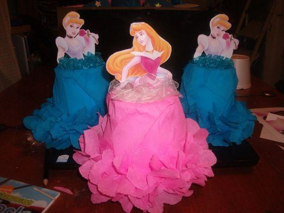 Dulceros con diseño de Princesas de Disney