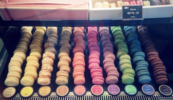 I love macarons!! Guillaume bakery and cafe.