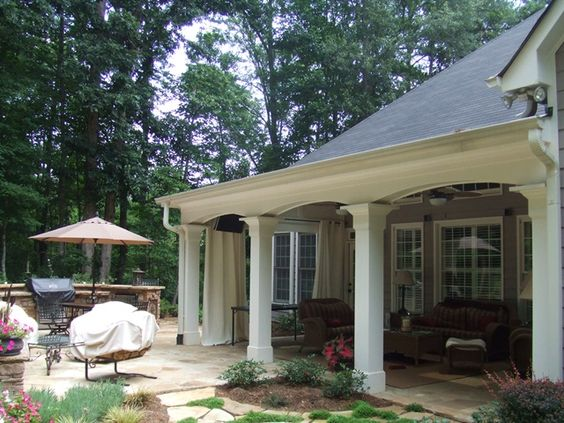 Covered outdoor living spaces outdoor living space - Covered outdoor living spaces ...