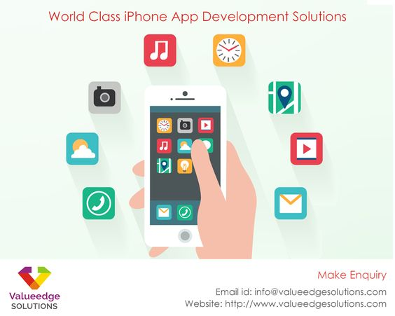 Update #iPhone with the smartest mobile #app at #ValueedgeSolutions