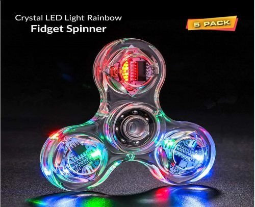 Top 10 Best Light Up Fidget Spinners In 2019 Reviews