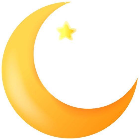 Cartoon Crescent Moon With A Funny Faces Free Clip Art Liked On Polyvore Moon Cartoon Moon Wall Art Moon Drawing