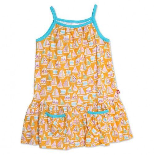 Toddler Riviera Puff Pocket Dress - Zutano Toddler Trends