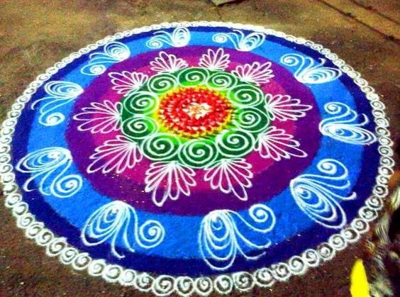 Easy Sanskar Bharti Rangoli Designs | Rangoli Designs and ...