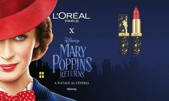 L'Oréal Paris x Mary Poppins Returns: лимитированная коллекция