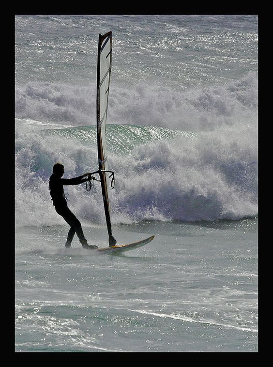 Do some windsurfing at #CapePoint
