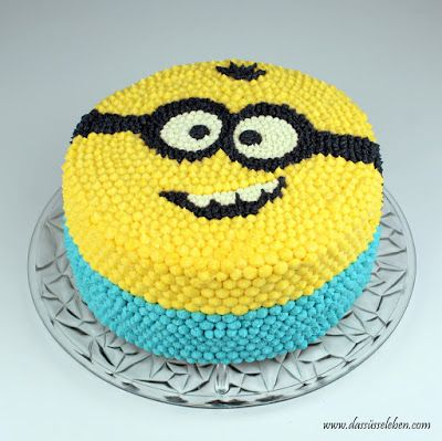 Rezept Minion-Torte aus Buttercreme | Das süße Leben