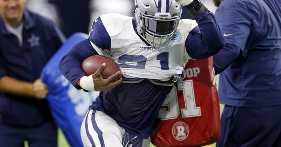 Dez Bryant: I love what I'm seeing from Ezekiel Elliott; his debut 'had me crazy on fire'