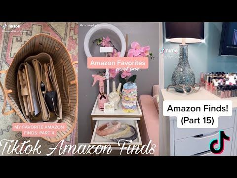 Tiktok Amazon Finds Compilation Prt7 Youtube Amazon Find Cute Room Ideas Amazon