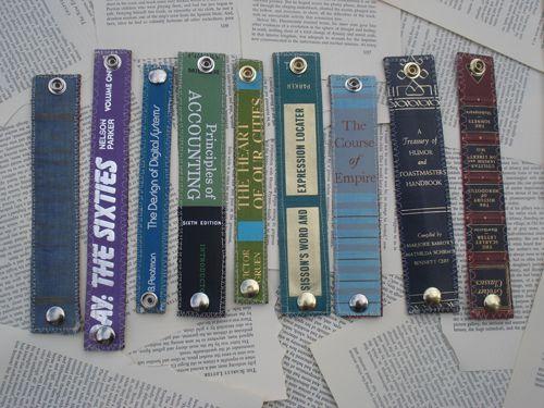 book binding bracelets.