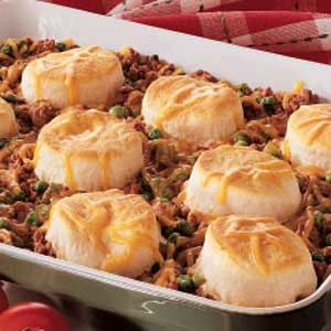 Ground beef beef and biscuits on pinterest for Good dinner recipes with ground beef