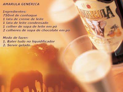 Receita de Amarula Genérica, veja a receita neste link:     http://www.ovaledoribeira.com.br/2011/07/receita-de-amarula-generica.html