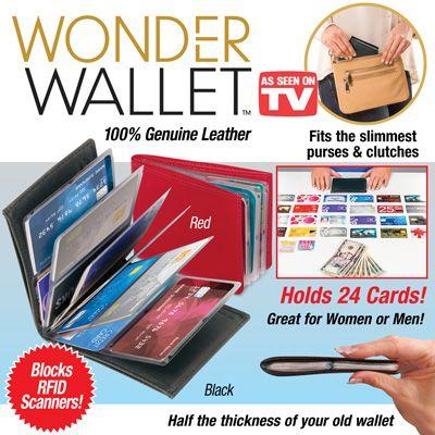 Wonder Wallet - RFID Wallet Organizer