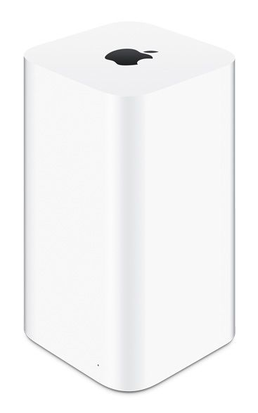 Apple - Time Capsule - wirelessly backup/store up to 3TeraBytes, faster WiFi base port than trad. routers, even allows access to additional external hard drives (basically could have entire iTunes/iPhoto library on separate hard drive & access it from any Apple you want, anytime, wirelessly). So cool, technology done right; want!