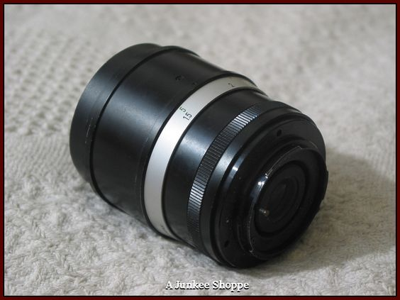 FOCAL F135mm K Type Connection 1:2.8 Camera Lens Used Picture Photography  IMG 642 http://ajunkeeshoppe.blogspot.com/