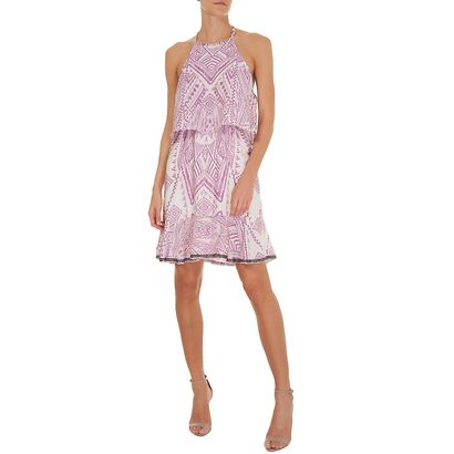 LE LIS BLANC - Vestido Marta babados Le Lis Blanc - rosa - OQVestir