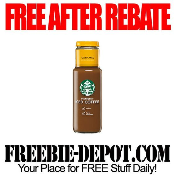 FREE AFTER REBATE - Iced Coffee - exp 3/23/13