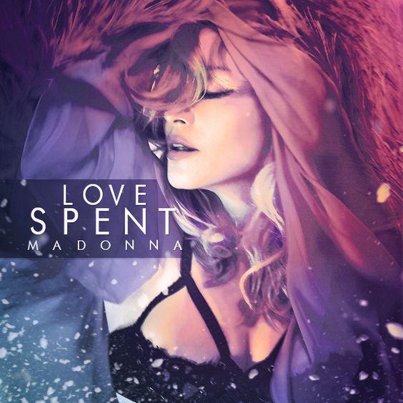 Madonna – Love Spent (single cover art)