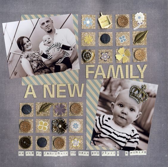 A New Family - Scrapbook.com