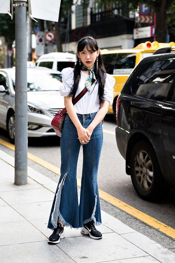 Jung Seulbi, Street Fashion 2017 in Seoul