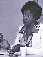 Joyce Nichols 1st female PA, my professional inspiration!