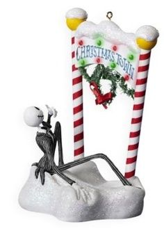 Hallmark Ornament The Nightmare Before Christmas Welcome To Christmas Town