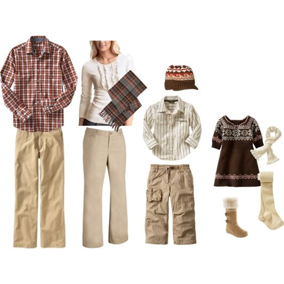 U0026quot;Fall family portraits earthyu0026quot; on Polyvore | Photography-What to wear | Pinterest | Warm ...