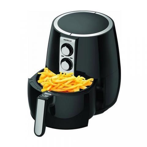 Buy Havells Prolife Plus 4 Litre 1230 Watt Air Fryer Black Airfryer Food Foodie O Abnehmen Buying Kitchen Appliances Best Air Fryers Air Fryer