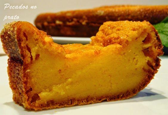 Pecados no prato: Bolo queijada de leite condensado