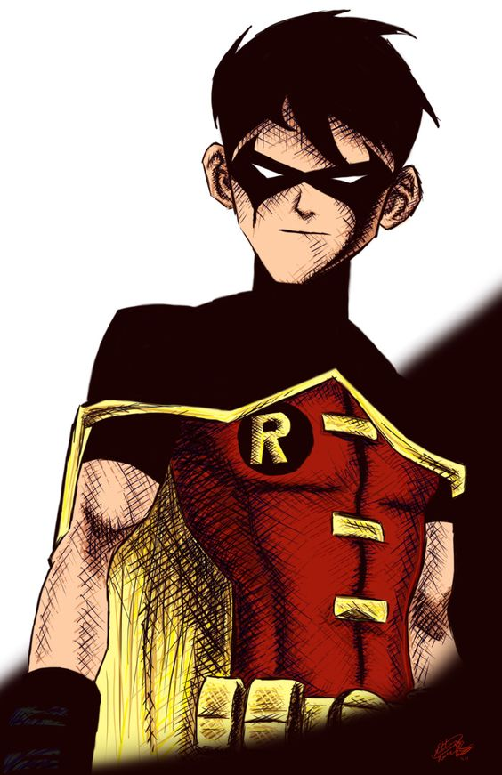 It's like YJ Robin, always thought that version was slightly cooler.
