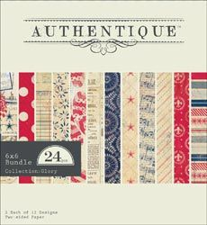 Authentique Paper: Glory  Shipping Mid April