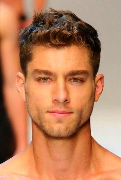 Mens Haircut In 2020 Thick Hair Styles Curly Hair Men Mens Hairstyles Short