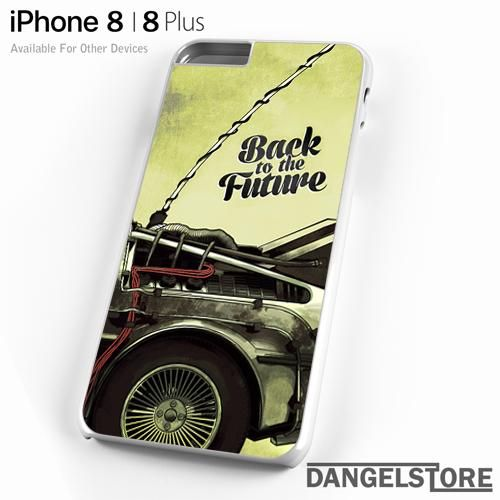 coque iphone 8 back to the future