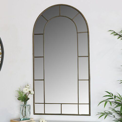 Bianchi Accent Mirror Williston Forge In 2020 Mirror Wall Living Room Window Styles Mirror Wall