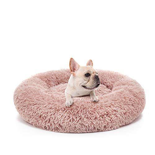 Joejoy Orthopedic Dog Bed Comfortable Donut Cuddler Round Dog Bed Ultra Soft Washable Dog And Cat Cushion Bed 23 X 2 Orthopedic Dog Bed Round Dog Bed Dog Cat