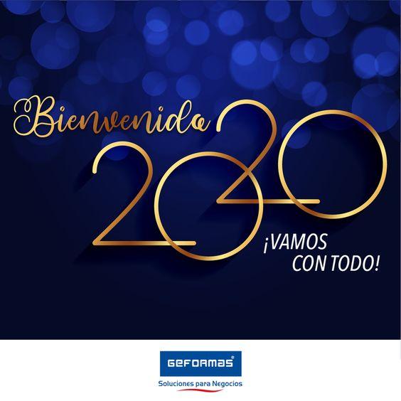 Le damos la BIENVENIDA al año 2020  Un año que sin duda nos propondremos a seguir brindando lo mejor a todos nuestros clientes...  #FelizAñoNuevo #Bienvenido2020 #2020 #Geformassolucionesparatunegocio #Geformas #solucionesparatunegocio #negocio #prosperoañonuevo #FelizAño #31dediciembre #FelizMartes