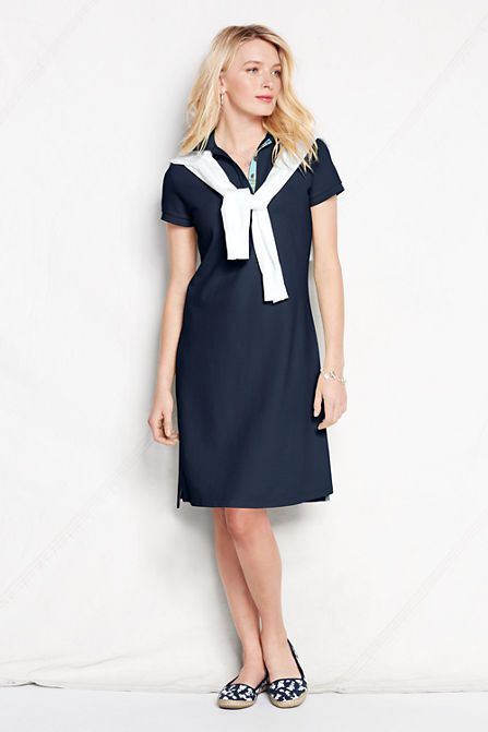 Try our School Uniform Girls Short Sleeve Mesh Polo Dress at Lands' End. Everything we sell is Guaranteed. Period.® Since