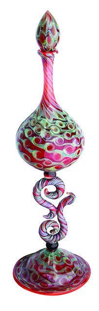 Art perfume bottle by Jesse Kohl. ~~ For more: - ✯ http://www.pinterest.com/PinFantasy/curioso-~-perfume-frascos-bottles/