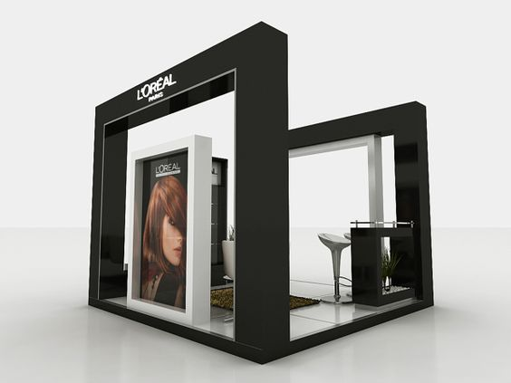 L'Oreal Booth on Behance