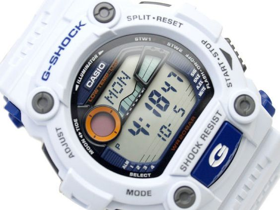 CASIO G-SHOCK 1000 HOUR STOPWATCH G-7900 G-7900A-7 WHITE 100% AUTHENTIC with BOX #Casio #Wristwatches