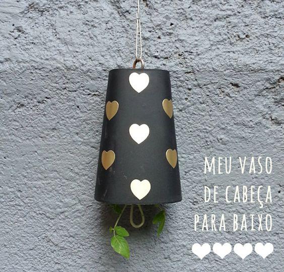 dcoracao.com - blog de decoração: Jardinagem: como plantar em um vaso de ponta cabeça, ou sky planter