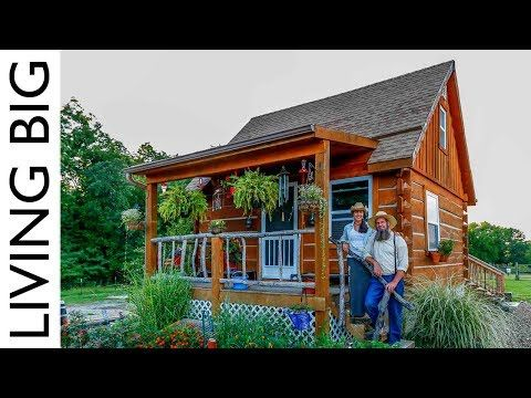 Youtube Douglas And Stacy S Log Cabin House Cost Was Around