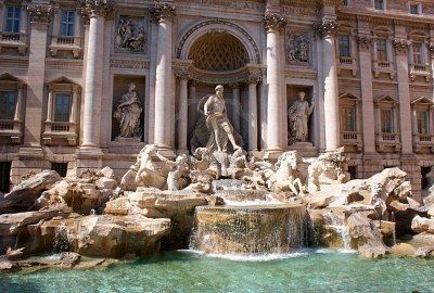 Trevi Fountain, Roma