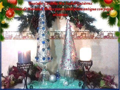 Adornos De Navidad Con Pinos